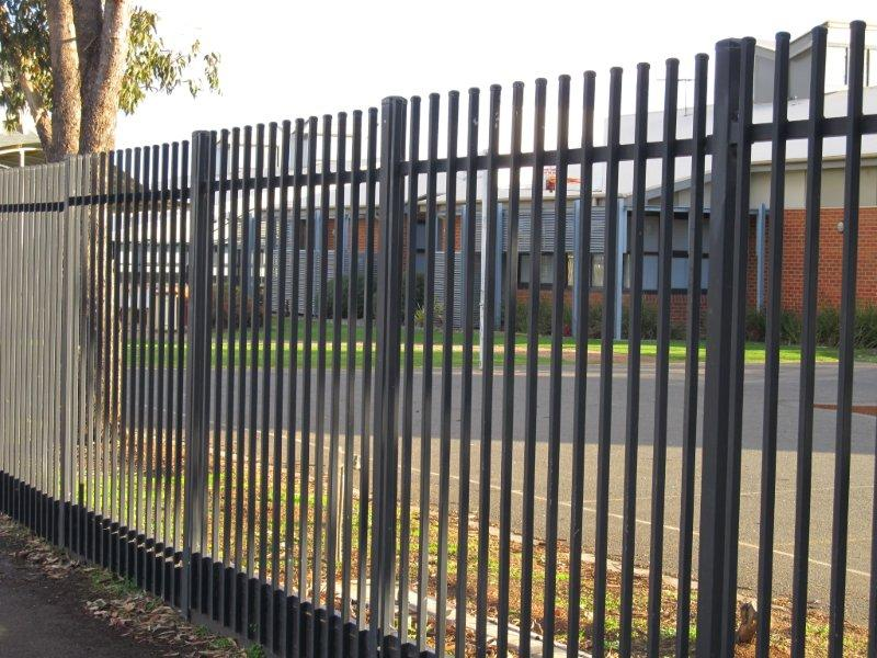 Security metal fencing satelite melbourne